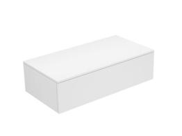 Keuco Sideboard 31751770000 Edition 400 weiß/Glas titan satiniert 1 Auszug Keuco -