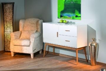 Links 20901700 Kommode Bambus Retro Design Anrichte Wohnzimmer