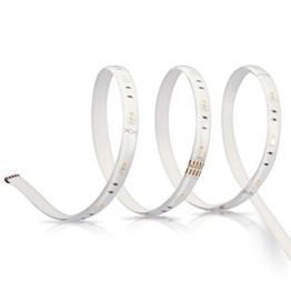 OSRAM LIGHTIFY Flex LED-Streifen 2 Meter Länge / dimmbar / warmweiß bis tageslicht 2000K - 6500K und Farbsteuerung RGB /Kompatibel mit Alexa -