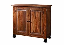 MASSIVMOEBEL24.DE Kolonialstil Palisander massiv Holz Möbel Sideboard Sheesham vollmassiv lackiert Massivmöbel New Boston #209 - 1